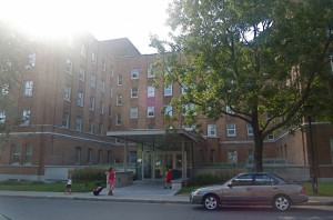 St Mary's hospital, where I had my job interview