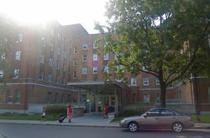St Mary's hospital, where I had my job interview
