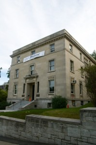 This is Thomson House, the grad students' building