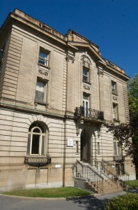 This is the building for the Biomedical Ethics Unit at McGill