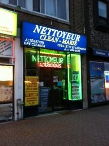 Nettoyeur Clean-Marie
