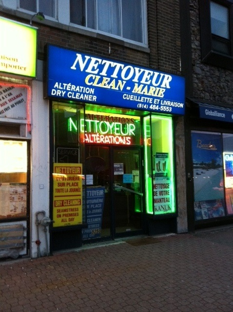 Surprisingly funny business names: Nettoyeur Clean-Marie