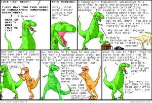 Dinosaur Comics are Awesome