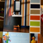 Ernie and Bert paint colours