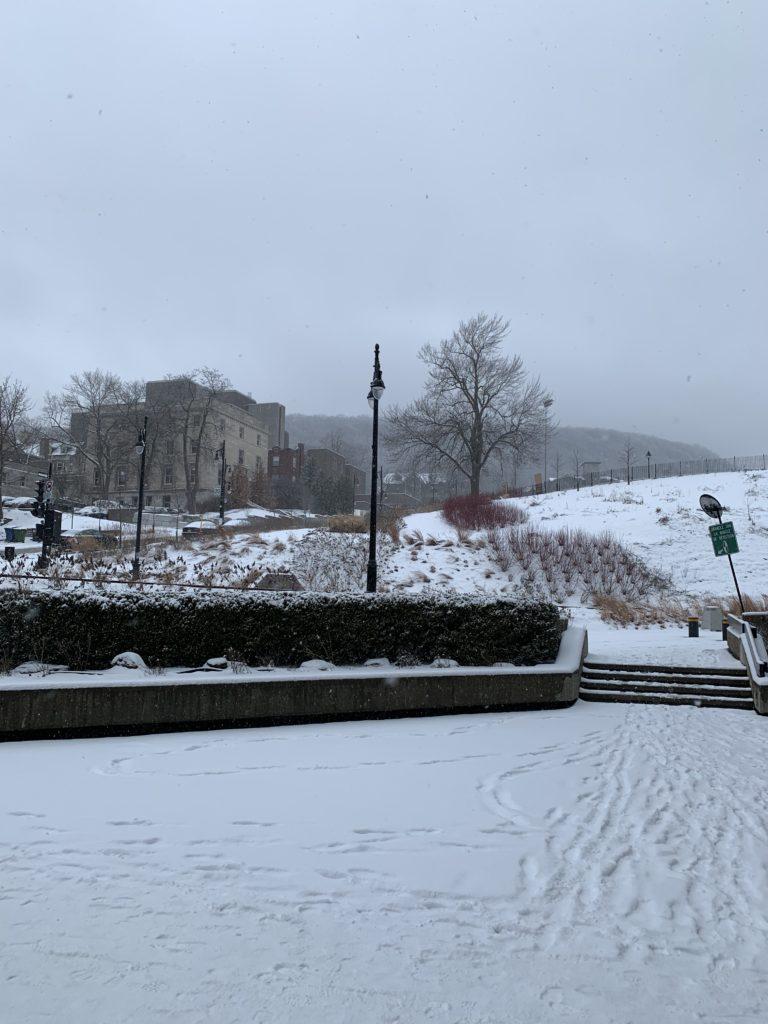 2019 April 9; snowy