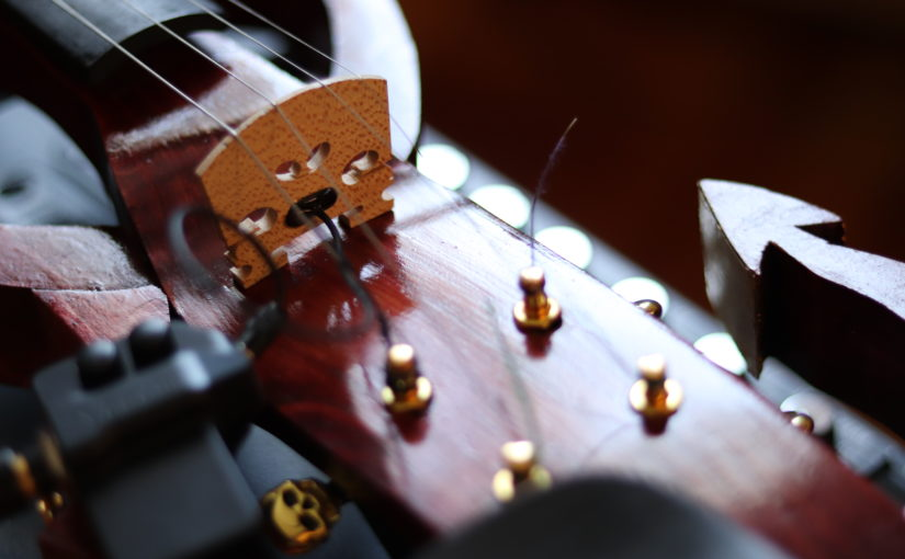The Stradivarielzebub: making an electric fiddle